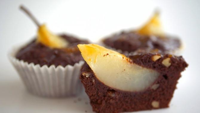 Кексы Королева Груша шоколадно-ореховые - Видео-рецепт