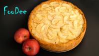 Цветаевский яблочный пирог – Самый нежный пирог с яблоками и сметанной заливкой - Видео-рецепт