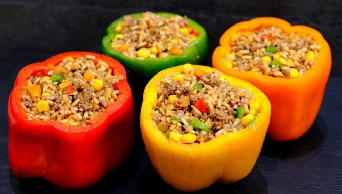 Перец по-мексикански - Видео-рецепт