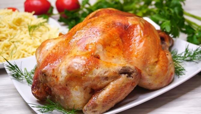Курица в духовке - Видео-рецепт