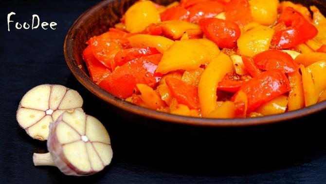 Пепероната – ароматный салат-закуска родом из Италии - Видео-рецепт
