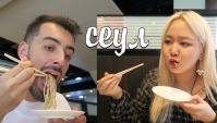 Метро в Сеуле, кафе с собаками и пробуем японскую лапшу | Южная Корея (Видео)