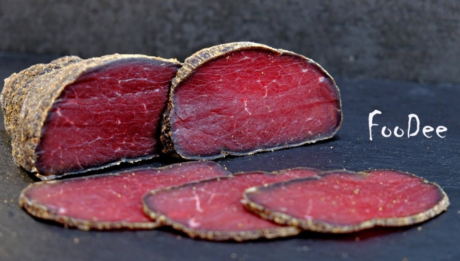 Бастурма вместо колбасы - Видео-рецепт
