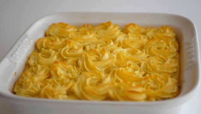 Деревенский картофельный пирог с мясом - Видео-рецепт