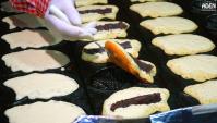 Уличная еда в Японии - Тайяки, блины, снэки, изделия из теста, запеченная рыба (Видео)