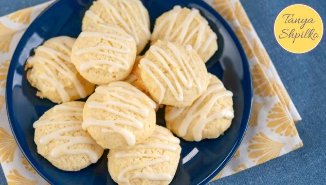 Лимонное Печенье с Рикоттой - Видео-рецепт