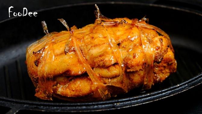 Холодная закуска из куриного филе - Видео-рецепт