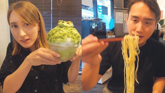Наш выходной. Едим рамэн и японский сладкий лёд. Japan VLOG (Видео)