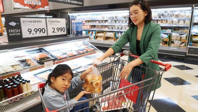 Покупки еды в Корее (Видео)