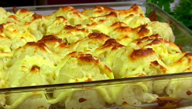 Цветная капуста с сыром в духовке - Видео-рецепт