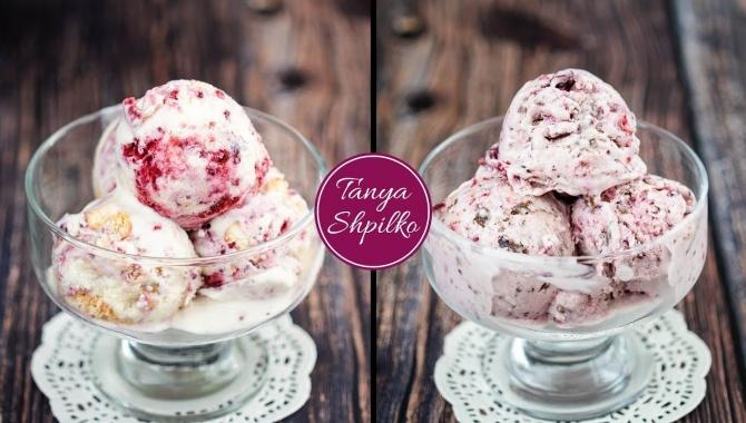 Сливочно-Ягодное Мороженое Пломбир - Видео-рецепт
