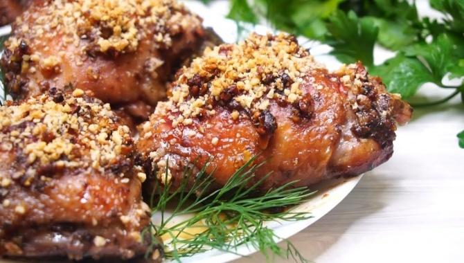 Курица по-праздничному - Видео-рецепт