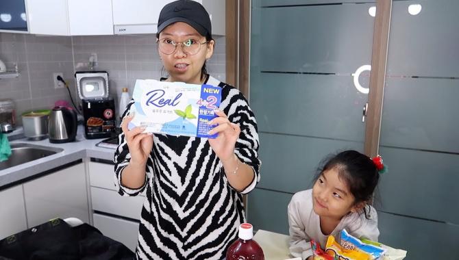 Закупка еды в Корее. Закупились на 6000 рублей (Видео)