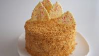 Торт Хрустящий Наполеон. Традиционный семейный рецепт для новогоднего стола - Видео-рецепт