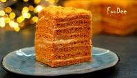 Торт Карамелька - Видео-рецепт