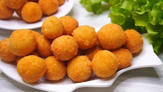 Сырные шарики - Видео-рецепт