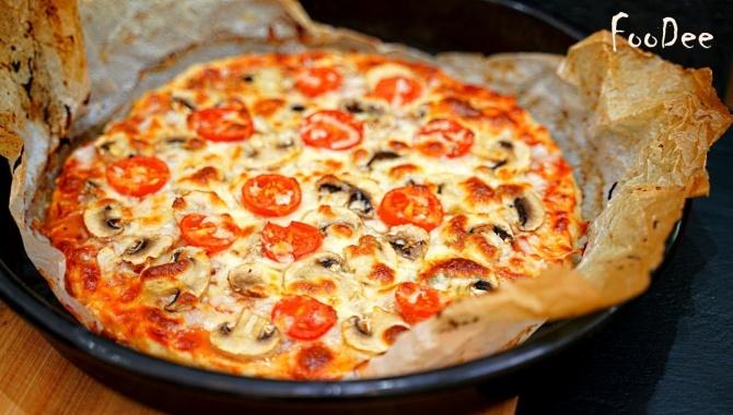 Пицца БЕЗ теста за 5 минут - Видео-рецепт