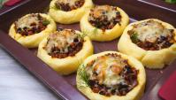 Картофельные гнезда с фаршем - Видео-рецепт