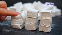 Воздушные и пружинистые зефирки Маршмеллоу - Видео-рецепт
