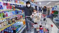 Покупка еды в Корее. Нельзя купить овощи и маски (Видео)