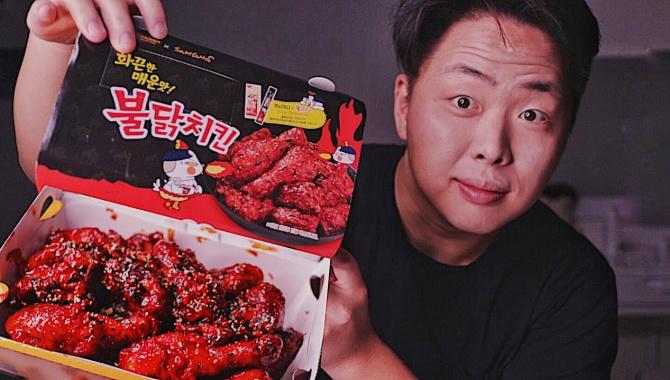 Огненная Корейская Курица! (Видео)