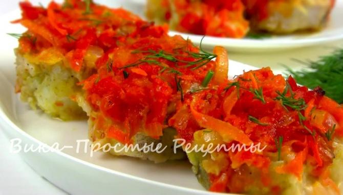 Рыба в духовке под вкусным маринадом - Видео-рецепт