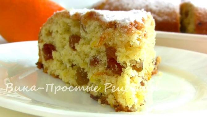 Быстрый пирог из простых продуктов - Видео-рецепт