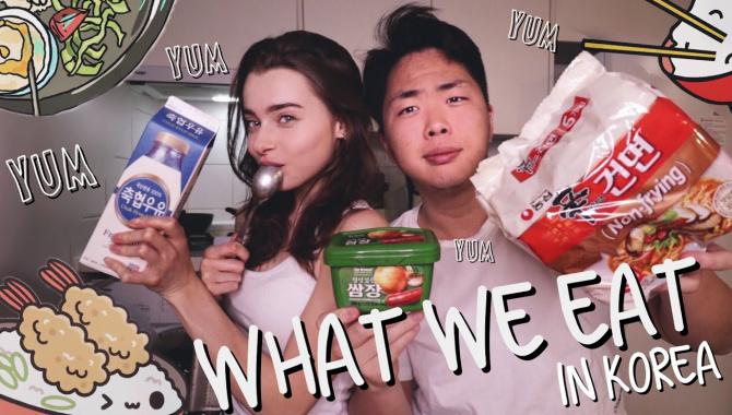 Как Мы Питаемся В Корее/Наш Повседневный Рацион (Видео)
