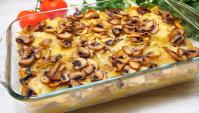 Томленный картофель в духовке со сливочным вкусом - Видео-рецепт