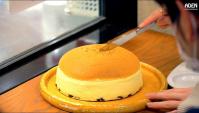 Уличная еда в Осака - Японский трясущийся Чизкейк (Видео)