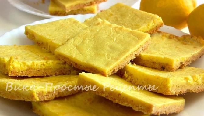 Простое лимонное печенье - Видео-рецепт