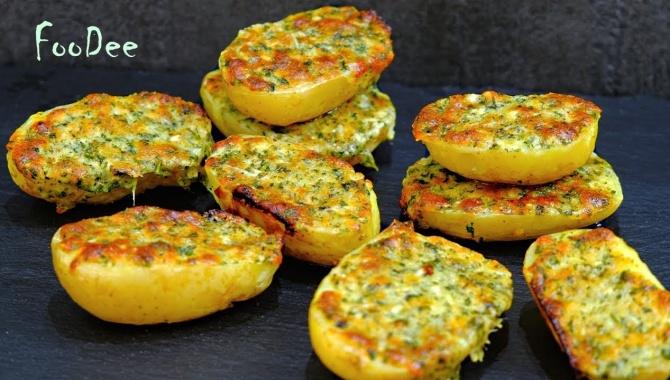 Картофель запеченный в духовке - Видео-рецепт