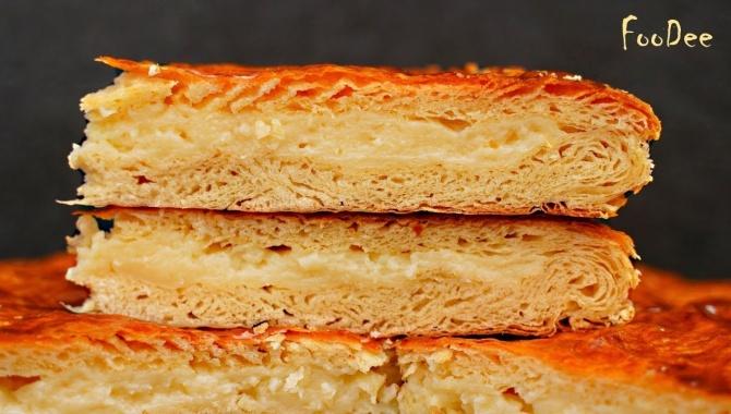 Египетская слоеная сладость – пирог Фытыр - Видео-рецепт