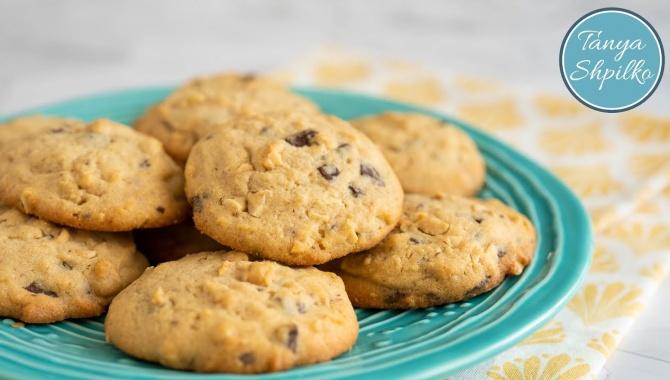 Рассыпчатое Печенье с Арахисом и Шоколадом - Видео-рецепт