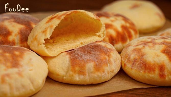 Лепешки на картофельно-дрожжевом тесте - Видео-рецепт