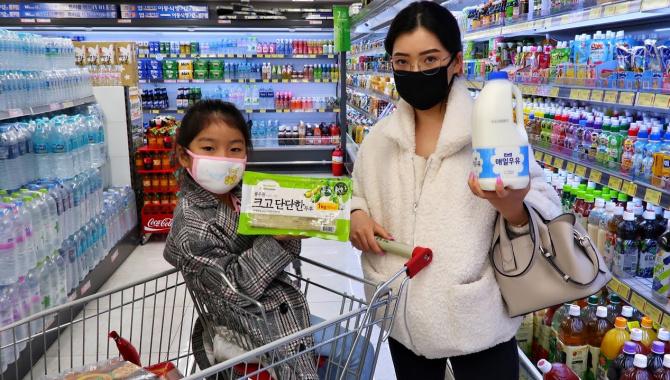 Как мы питаемся в Корее на карантине? Покупка еды (Видео)