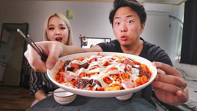 Это Блюдо Обожают в Корее! Королевский Доширак! Рецепт Мукбанг (Видео)