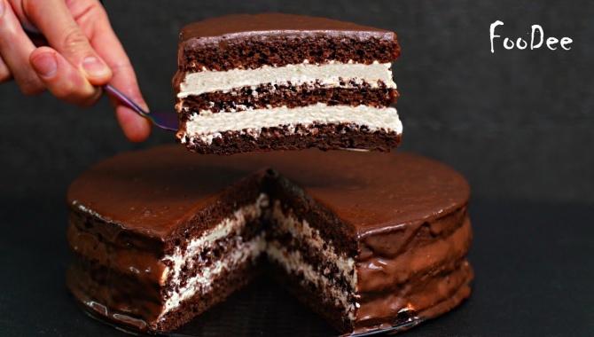 Шоколадный торт - Видео-рецепт