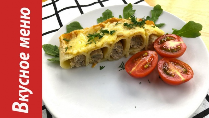 Запеканка из макарон с фаршем и сыром - Рецепт