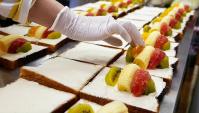 Японская Еда - очень вкусные фруктовые сэндвичи (Видео)