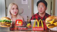 Корейский Конкурент МАКДОНАЛДС! Сравнение Lotteria и McDonald's (Видео)