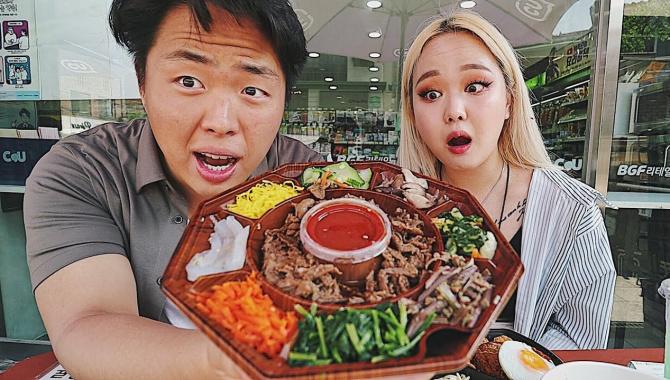 Купили ЭТО в Корейском Магазине?! Пибимпаб, доширак и др. Корейская Еда! (Видео)