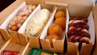 Уличная Еда в Корее - Популярный Сырный Комбо Хот-дог  (Видео)