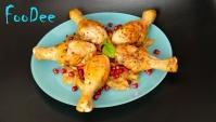 ХОХОП – Курица с луком и гранатом - Видео-рецепт