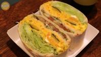 Уличная еда в Корее - Сэндвич со сладкой тыквой (Видео)