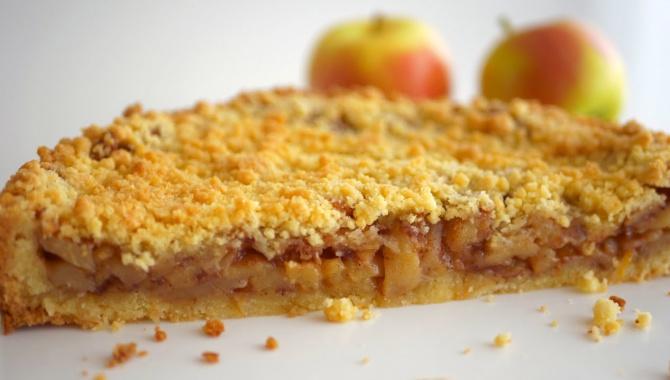 Бабушкин тёртый пирог с яблоками - Видео-рецепт