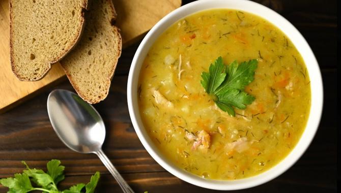 Гороховый суп с копчёностями - Видео-рецепт