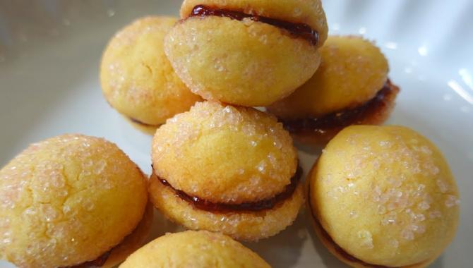 Нежнейшее итальянское печенье с джемом - Видео-рецепт