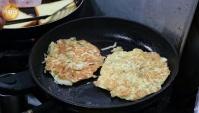 Корейская Еда - Тосты с ветчиной и сыром (Видео)
