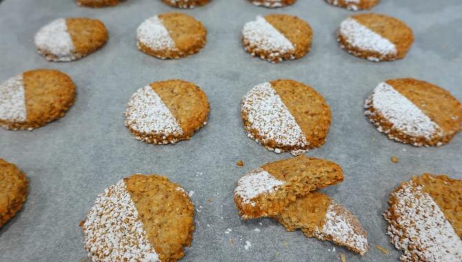Кунжутное печенье - Видео-рецепт